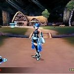 Aqua est la magicienne du groupe, une fois que vous aurez fait évoluer suffisamment ses commandes elle deviendra une redoutable combattante.