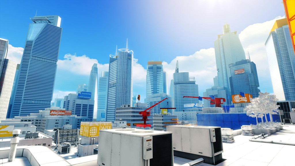 MirrorsEdge niveau