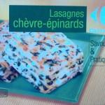 Lasagnes Chèvre épinard