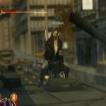Alex continue d'encaisser des dégâts quand il tente de détourner un véhicule.