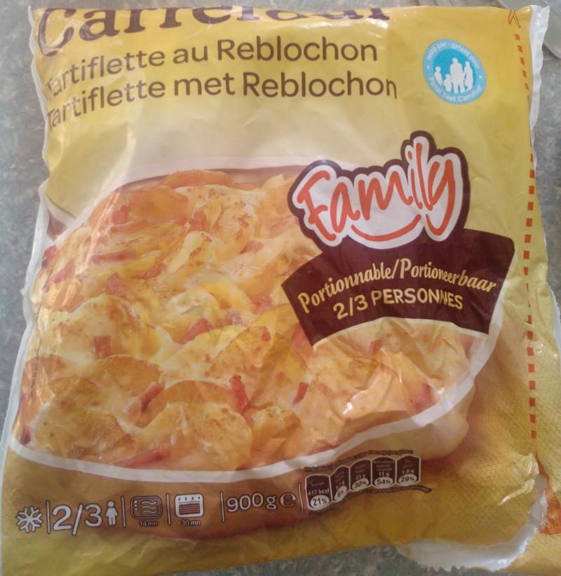 Tartiflette au Reblochon Carrefour Family
