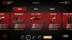 L'armurerie, il est possible d'y débloquer les armes plus rapidement que via l'acomplissement des missions.