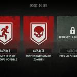 3 modes de jeu.